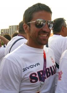 Janko Tipsarevic London 2012 Olympics Team Serbia