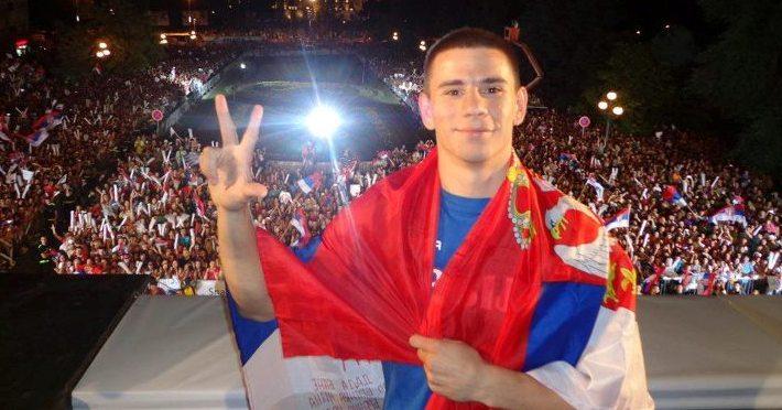 Aleksandar Drenovak Serbia Olympic Boxer