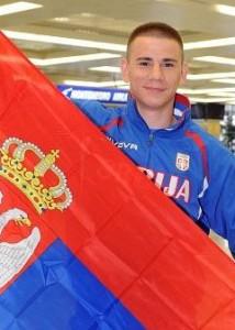 Aleksandar Drenovak Serbia Olympic 2012 Boxer