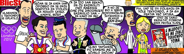 Marko Somborac Serbian Cartoon Blic