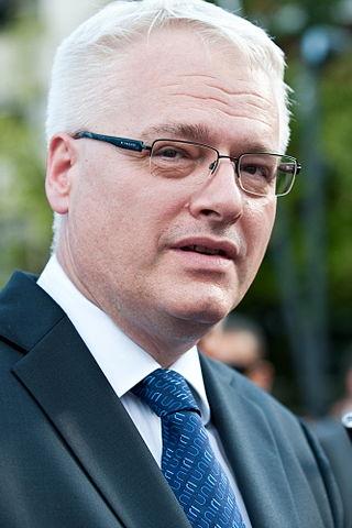 Ivo Josipovic Croatian President