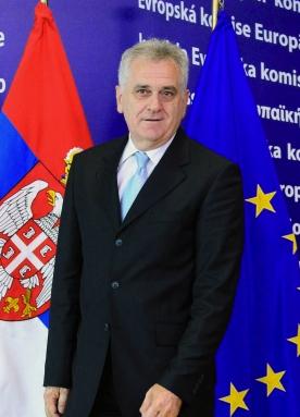 Serbian President Tomislav Nikolic EU