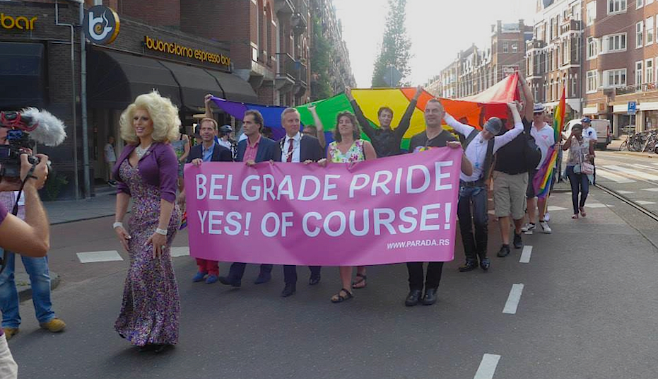 Belgrade Pride Amsterdam