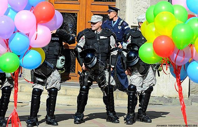 Belgrade Police Pride 2014, Marcus Agar