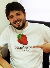 Strawberry energy milos