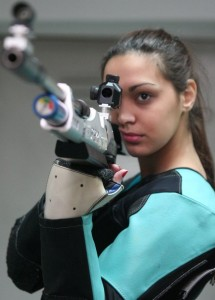 Ivana Maksimovic Serbian Olympic Shooter London 2012