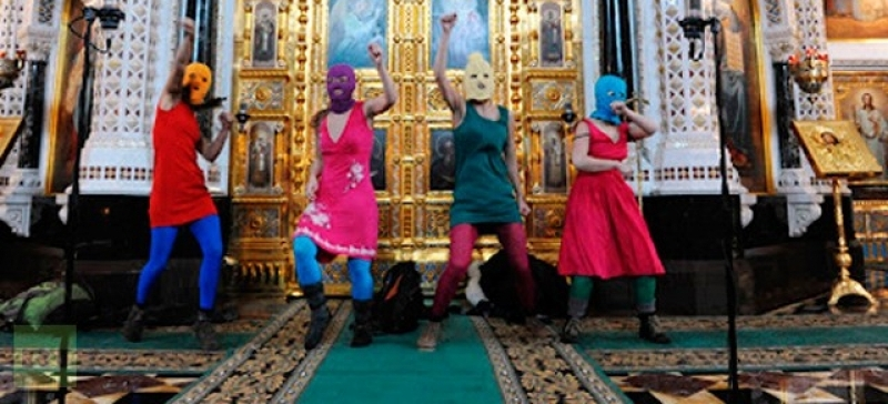 Pussy Riot Cathedral