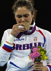 Milica Mandić Serbia Olympic Gold London 2012