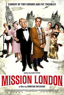 Wild Rooster, Marcus Agar, review of Mission London. Bulgarian box office hit.