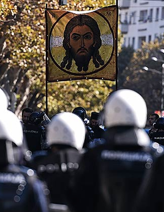 Marcus Agar, Orthodox Church Belgrade Pride